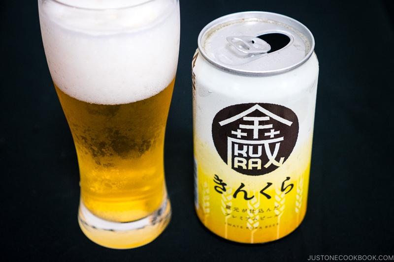 Kinkura - Japanese Beer Guide (Big Beer + Craft Beer) | www.justonecookbook.com
