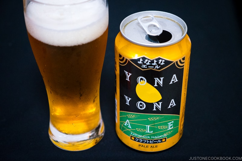 Yona Yona Ale - Japanese Beer Guide (Big Beer + Craft Beer) | www.justonecookbook.com