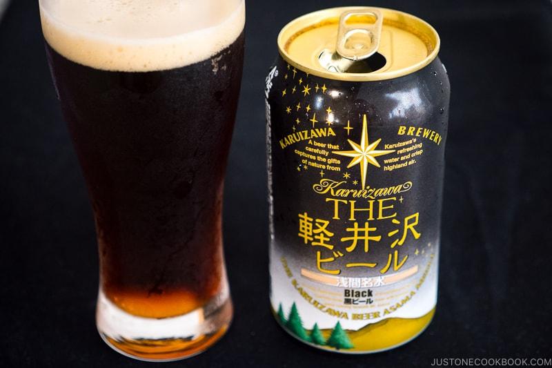 Karuizawa Black Beer - Japanese Beer Guide (Big Beer + Craft Beer) | www.justonecookbook.com