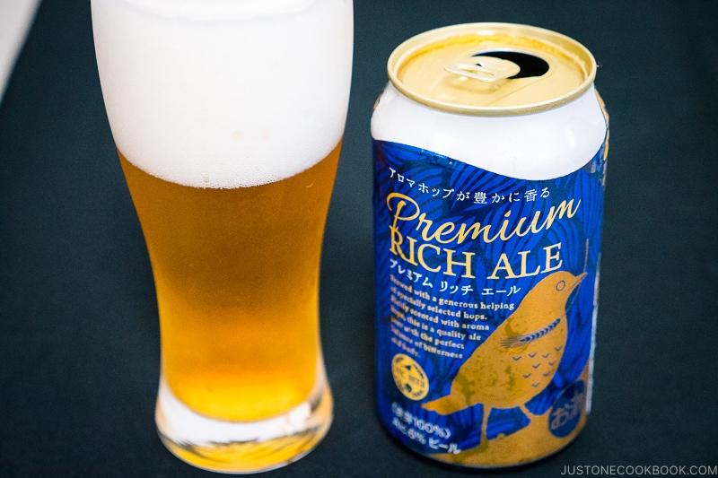 Premium Rich Ale - Japanese Beer Guide (Big Beer + Craft Beer) | www.justonecookbook.com