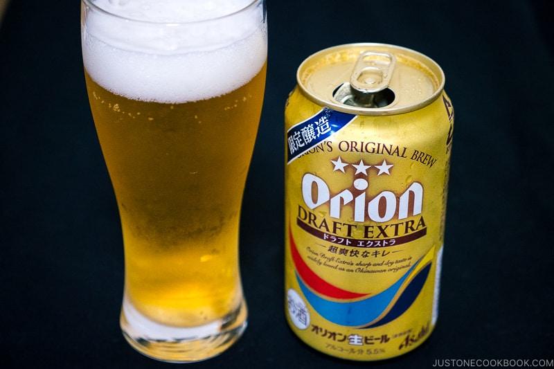 Orion Draft Extra - Japanese Beer Guide (Big Beer + Craft Beer) | www.justonecookbook.com
