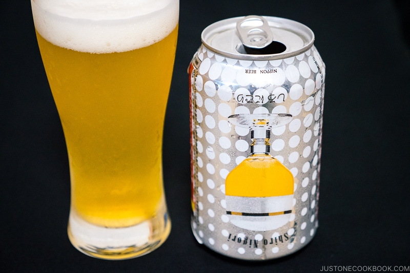 Shiro Nigori - Japanese Beer Guide (Big Beer + Craft Beer) | www.justonecookbook.com
