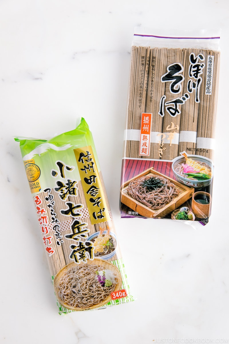 Soba (Buckwheat Noodles) | Easy Japanese Recipes at JustOneCookbook.com