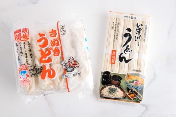 Udon Noodles (Frozen and Dry) | Easy Japanese Recipes at JustOneCookbook.com