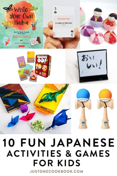 japanese culture and games for kids