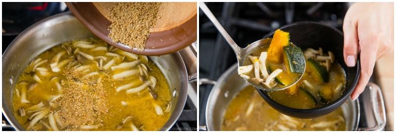 Kabocha Miso Soup 10