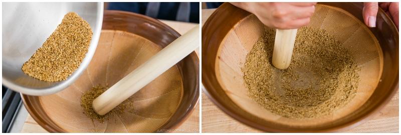Kabocha Miso Soup 2