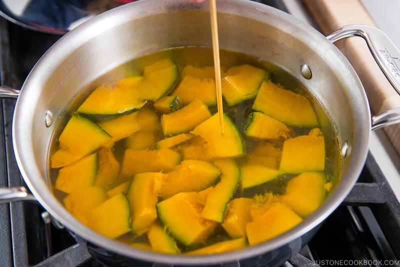 Kabocha Miso Soup 7