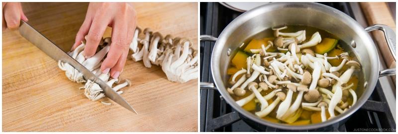 Kabocha Miso Soup 8