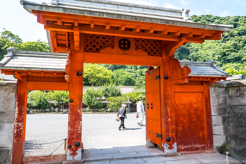 Tin Gate at Sengan-en 仙巌園