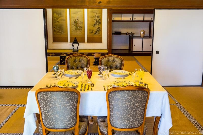Reception Room at The House at Sengan-en 仙巌園