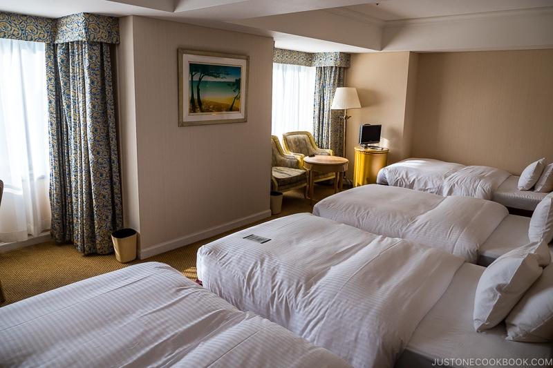 room at Shiroyama Hotel Kagoshima