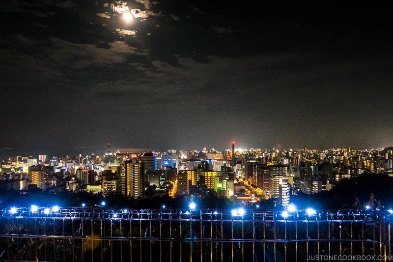night view of Kagoshima