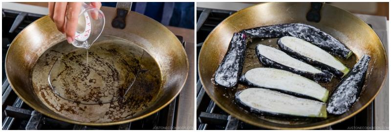 Soy Glazed Eggplant Donburi 7