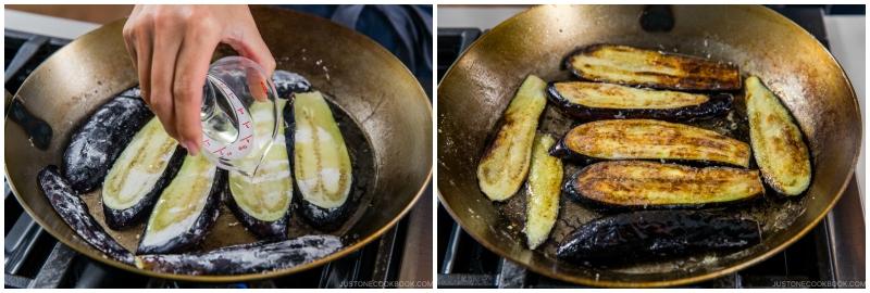 Soy Glazed Eggplant Donburi 8