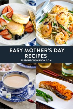 Mother's day recipes and menu ideas for breakfast, brunch, dessert and dinner