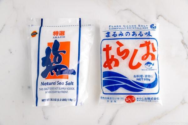Sea Salt (Arajio) | Easy Japanese Recipes at JustOneCookbook.com