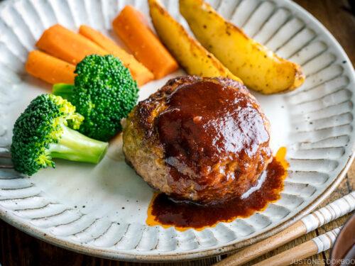 Hamburger Steak Hambagu ハンバーグ Just One Cookbook