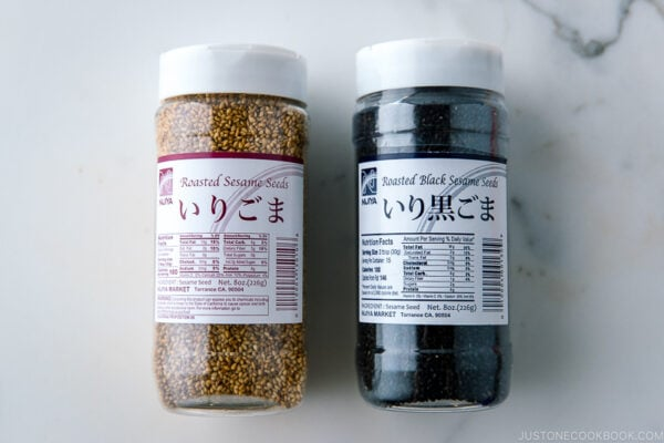 White and Black Sesame Seeds | Easy Japanese Recipes at JustOneCookbook.com