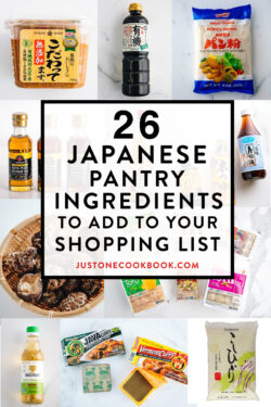japanese ingredients for cooking