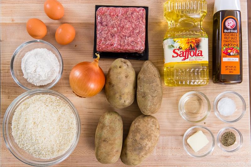 Mom's Korokke Ingredients