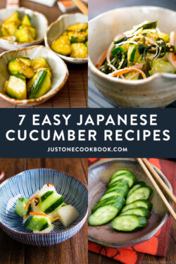 Easy Japanese Cucumber Recipes