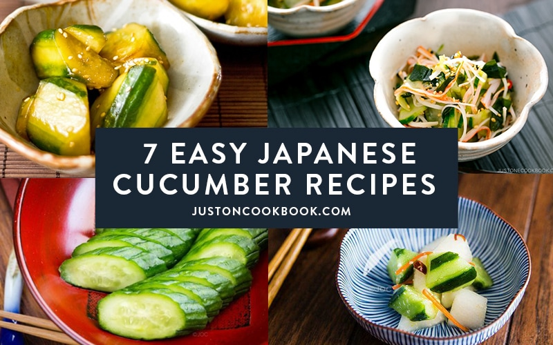 7 Easy Japanese Cucumber Recipes to Make Right Now