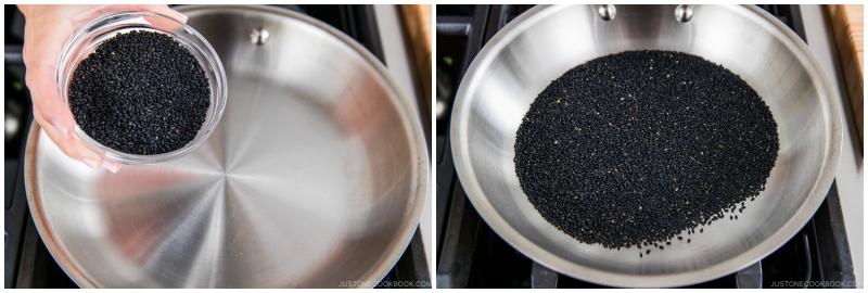 Black Sesame Paste 1