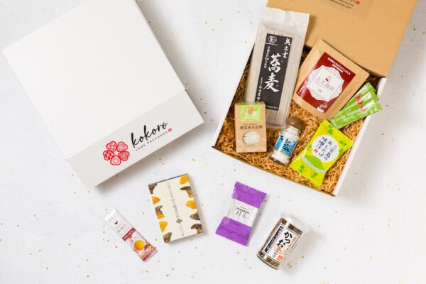 Kokoro Care Packages Yuzu Nourishing Care package featuring delicious yuzu-flavored goodies
