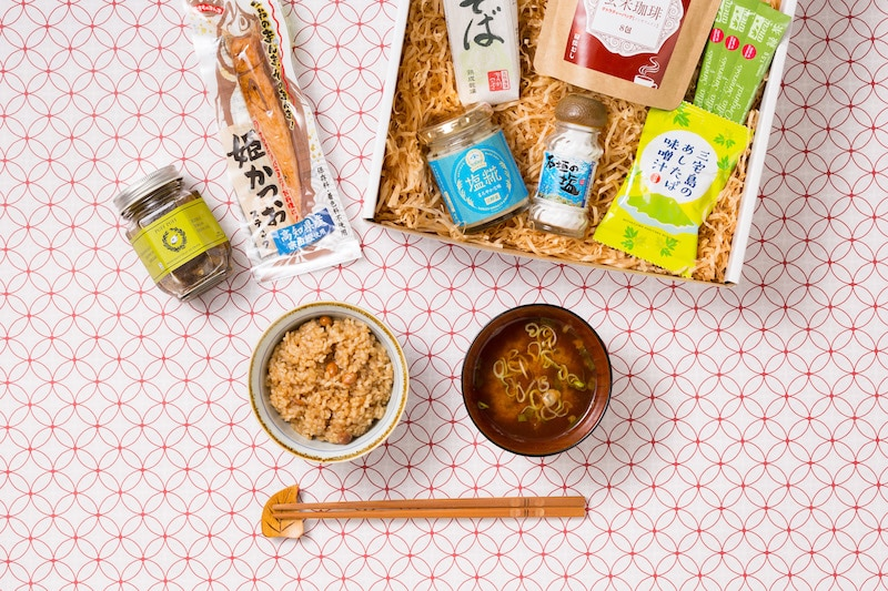 Kokoro Care Packages Yuzu theme care box featuring an assortment of yuzu flavored goodies