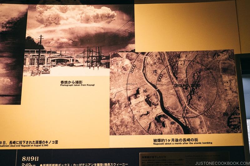 aerial images of nagasaki after atomic bomb