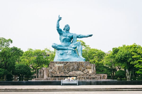 Nagasaki Peace Statue by Seibou Kitamura