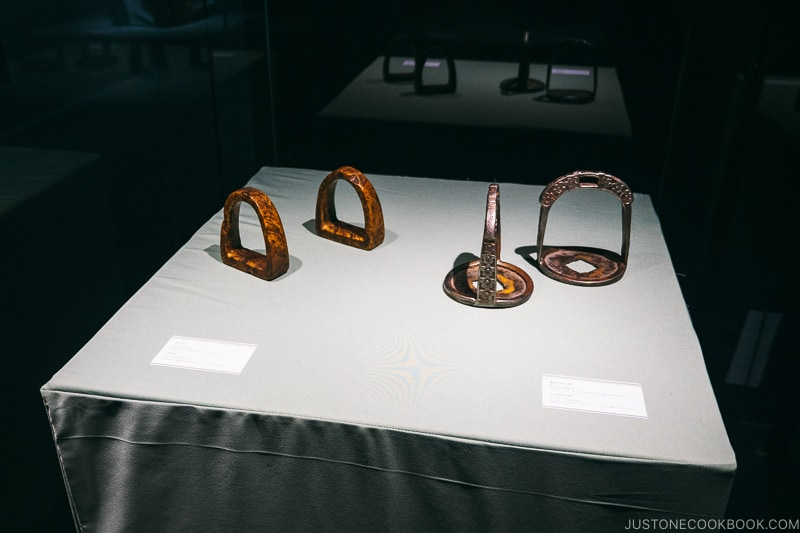Chinese artifacts on display at Historical Museum of China