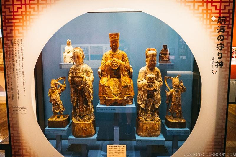 statue of Mazu - Chinese sea goddess