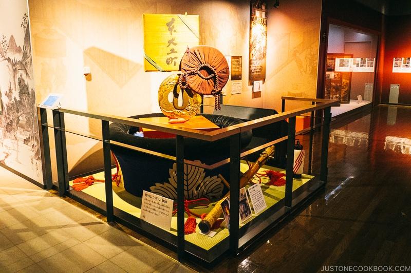 kasaboko float used in Kunchi festival on display