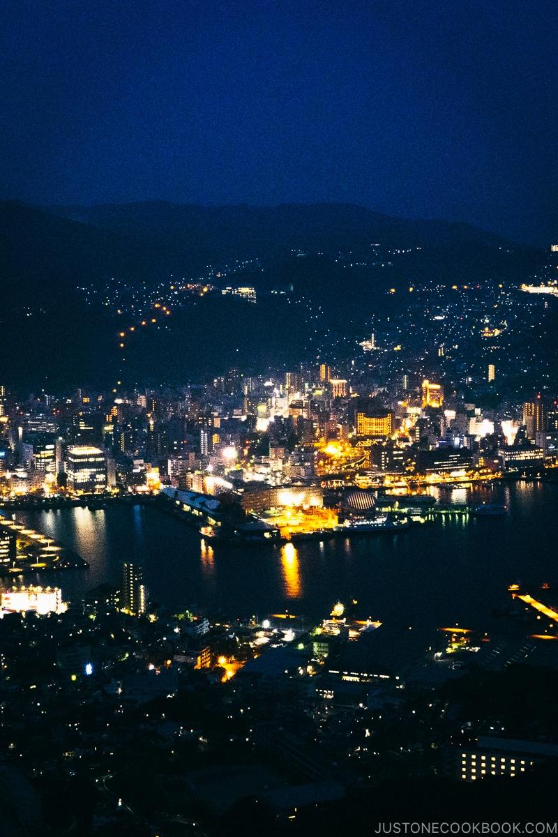 Nagasaki night view from Mt. Inasayama Observatory