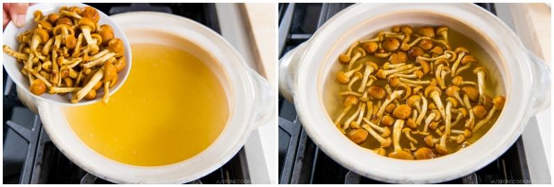 Nameko Mushroom Miso Soup 4