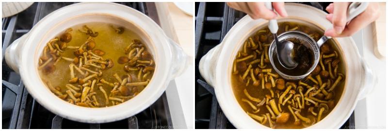 Nameko Mushroom Miso Soup 5