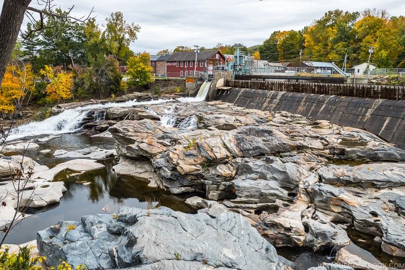 Shelburne Falls Potholes or Salmon Falls