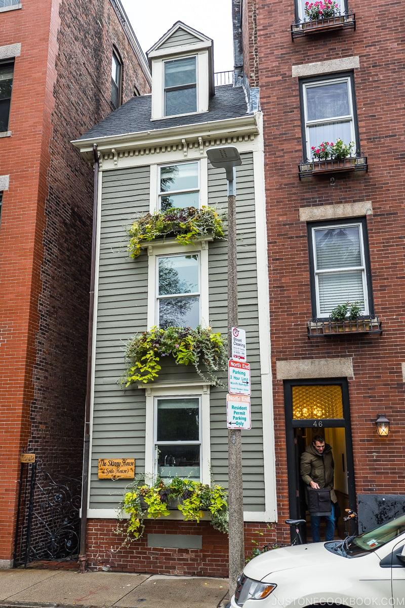 the skinny house in Boston