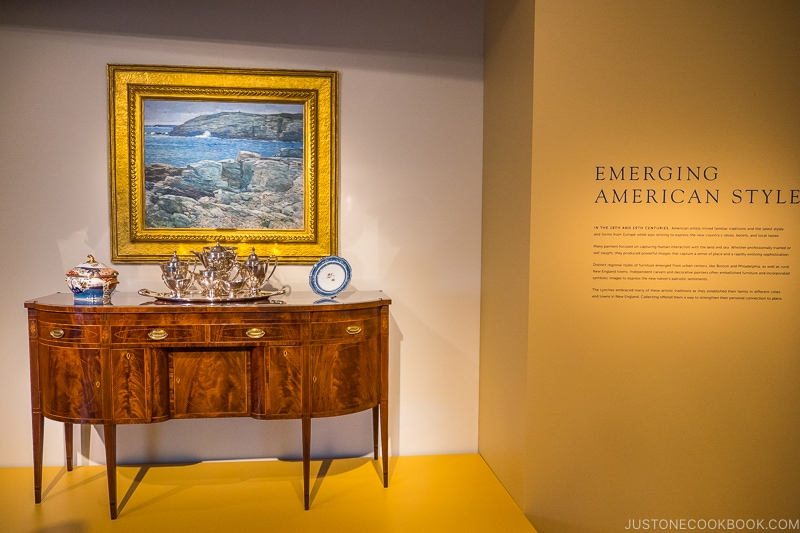 emerging American style exhibition at Peabody Essex Museum