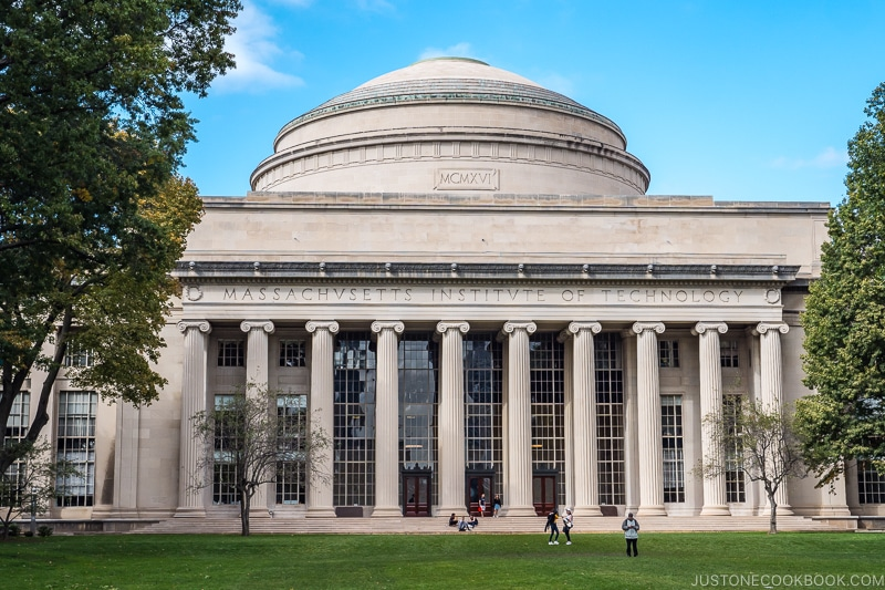 view of the Great Dome at MIT