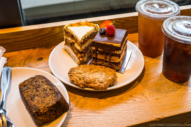 sweets and cakes at Flour Bakery & Cafe