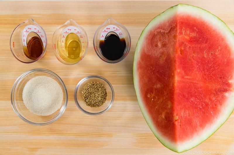Pickled Watermelon Rind Ingredients