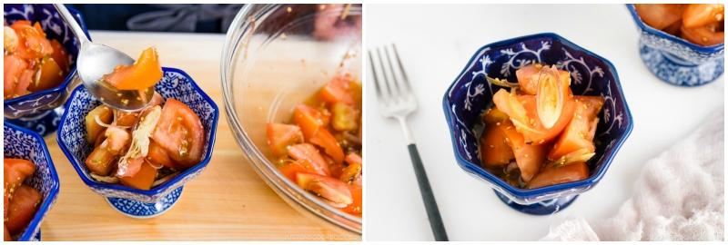 Tomato Myoga Salad 5
