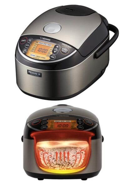 5.5 cups Zojirushi Pressure Induction Heating Rice Cooker & Warmer