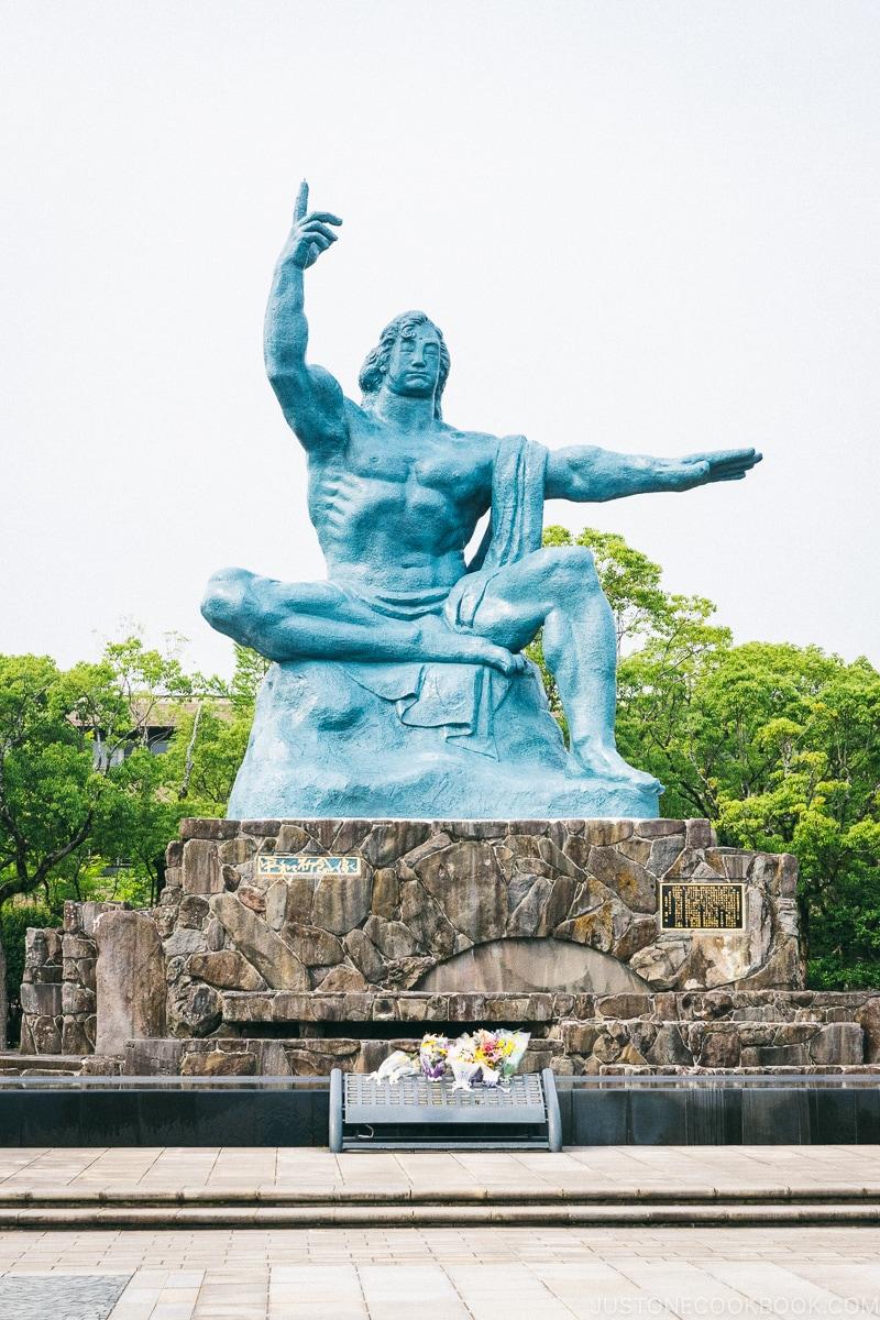 Peace Statue by Seibo Kitamura