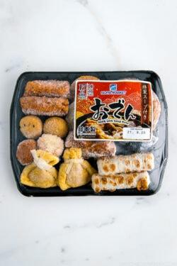 Oden (Fish Cake) Set