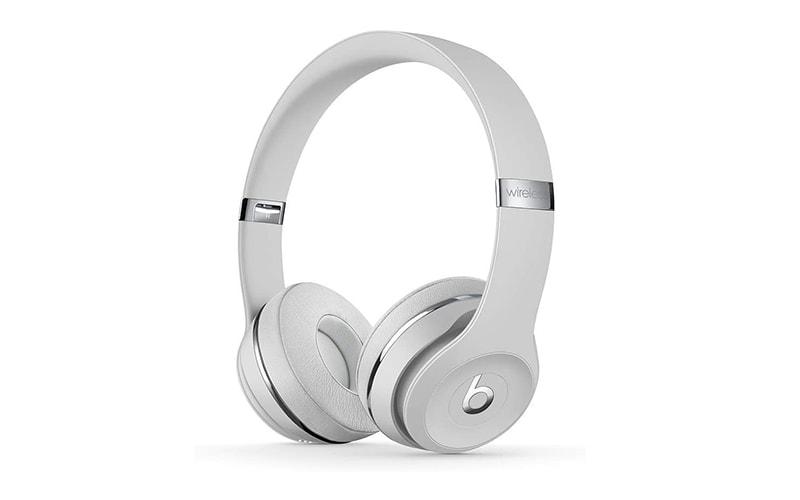 Beats Solo3 Wireless On-Ear Headphones Silver Satin