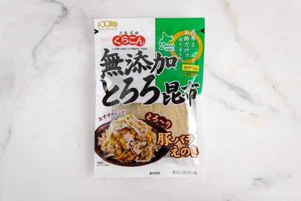 Tororo Kombu Seaweed